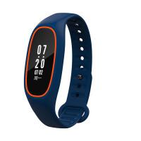 智能手环血压心率监测睡眠运动手表苹果安卓防水 橙蓝