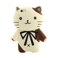 法芘兔 iphone6手机壳苹果6s硅胶套6plus女款卡通保护套防摔六猫