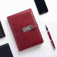 卡杰A5带锁密码日记本文具记事手帐本记事本子笔记本文具定制