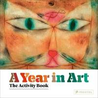 英文原版 A Year in Art The Activity Book 儿童艺术启蒙画册