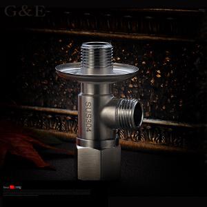 居逸不锈钢角阀 304八字阀 冷热水通用无铅 三角阀GE5002018