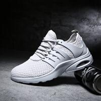 新百伦阿迪 2017春季新款运动鞋男鞋休闲气垫透气网布鞋轻便板鞋男跑步鞋子