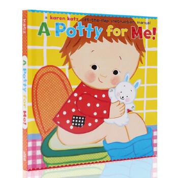 英文原版绘本 Karen Katz 凯伦 卡茨 A Potty for Me! 我的便壶 幼儿行为英