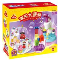 培培乐3d彩泥 无毒安全益智不干橡皮泥模具套装宝宝儿童玩具欢乐大派对 3905