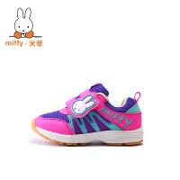 Miffy 米菲 童鞋小童鞋男童跑步鞋秋冬儿童运动鞋宝宝鞋子AD017