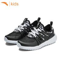 安踏儿童鞋夏款 男孩跑步鞋轻便宝宝运动鞋子中大童网鞋31728802