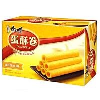 [当当自营] 康师傅 蛋酥卷 家庭装 奶油 饼干糕点 384g