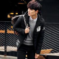 Dofonzee 2016新款冬季外套男士棉衣男棉服青年短款韩版袄子冬装加厚棉袄潮