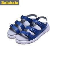 巴拉巴拉童鞋男童单鞋中大童2017夏季新款凉鞋儿童休闲鞋子夏