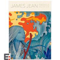 JAMES JEAN绘画作品集JAMES JEAN パレイドリア 画集 少女、妖精、幻��、迷�m茶花图书