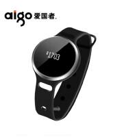 爱国者 HB02 智能手环防水蓝牙睡眠计步器苹果安卓ios跑步运动男女手表 黑色