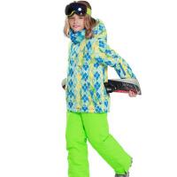防水透气保暖加厚 儿童滑雪服套装男童
