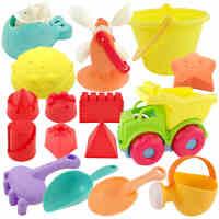 儿童沙滩玩具铲子宝宝挖沙工具套装户外戏水洗澡男女孩3-6周岁4-5