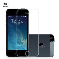Benks iPhone se钢化玻璃膜苹果5防指纹5s手机贴膜5C高清抗蓝光前