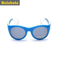 巴拉巴拉男童太阳镜中童平光眼镜2017夏季新款儿童时尚眼镜男