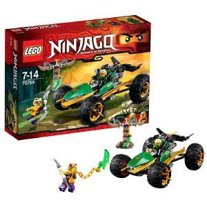 [当当自营]LEGO 乐高 NINJAGO幻影忍者系列 丛林冲锋车 积木拼插儿童益智玩具 70755