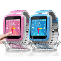 ICOU/艾蔻T10防水版触摸彩屏儿童手表电话  智能手表 IP67级防水 电子围栏,SOS紧急求救,远程监护,低电量报警,健康计步,睡眠质量监控,远程关机,对讲功能