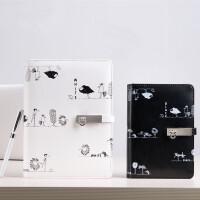 卡杰创意A6活页本手帐本笔记本文具记事本韩国手账本子个性日记本