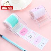 UMI韩国创意文具表情随心贴可撕便利贴 卡通可爱标签便签纸可粘贴