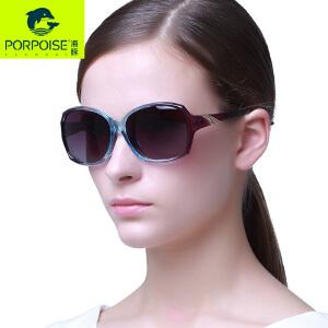海豚PORPOISE 2016新款女士偏光太阳镜 高端简洁时尚墨镜PP-3170