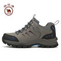 骆驼牌 新款户外中帮男款徒步鞋舒适防滑耐磨徒步鞋