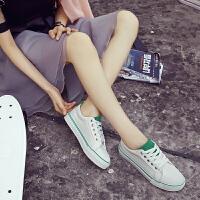 匡达女鞋帆布鞋女百搭低帮板鞋女休闲鞋小白鞋女球鞋学生韩版布鞋