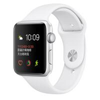 [当当自营] Apple Watch Sport Series 2智能手表(38毫米银色铝金属表壳搭配白色运动型表带 MNNW2CH/A)