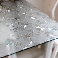 御目 定制塑料桌布 PVC软质玻璃防水防油透明磨砂免洗茶几垫桌垫餐桌布台布客厅家用垫板大书桌垫