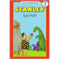 原版儿童英文绘本I Can Read 汪培�E阶段之Stanley 原始人史坦利   赠送音频