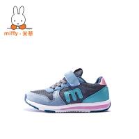 Miffy米菲 童鞋女童运动鞋春秋新款男童跑步鞋子儿童休闲鞋 AC026