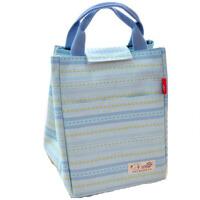 防水小学生保温手提饭盒袋子包拎包女帆布带饭装盒饭便当