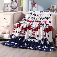 法莱绒毛毯加厚珊瑚绒毯子床单空调毯双人毛巾被法兰绒盖毯