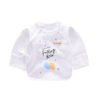 童泰2016年新款新生儿衣服婴幼儿内衣男女宝宝新品上衣偏开半背衣