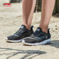 李宁男子2017新款飞翼半掌气垫一体织轻便透气跑鞋运动鞋ARKM007.