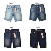 Levis\李维斯 男士牛仔短裤夏季新款时尚五分裤中裤多种蓝色23778