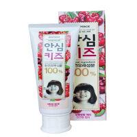 韩国LG倍瑞傲天然维生素儿童牙膏蔓越莓味80g