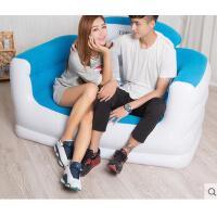 单人气垫座椅懒人沙发床  简易沙发休闲椅子 双人充气沙发