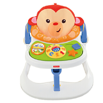 Fisher Price 费雪 CBV66 四合一小猴欢乐园 358.4元(双重优惠后173.4元)