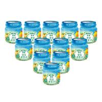 【当当自营】亨氏 Heinz混合蔬菜泥 1段(辅食添加初期-36个月)113g*12/箱 宝宝辅食