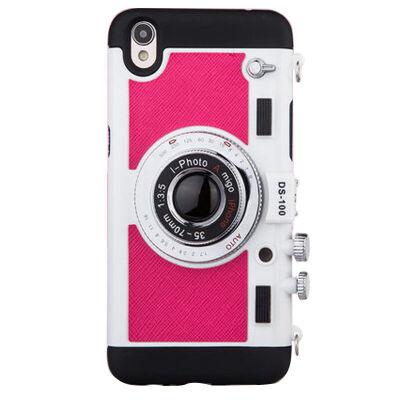 坚达 创意照相机手机壳 硅胶全包挂脖防摔保护套 适用于oppo r7 保护