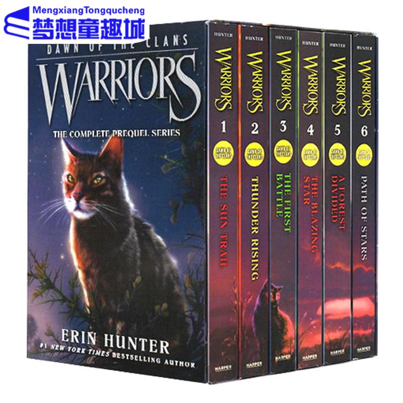 Warriors Of The Dawn: 英文原版】Warriors: Dawn Of The Clans 猫武士五部曲族群黎明6册》 【简介_书评_在线阅读