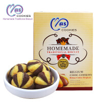 [当当自营] 马来西亚 麦尔斯巧克力味夹心松脆曲奇饼干 110g