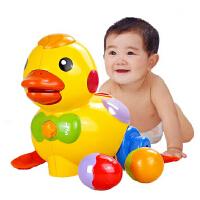 AUBY澳贝婴儿玩具 乖乖小鸭463318 奥贝儿童玩具初生宝宝感官认知新生婴幼儿早教益智玩具0-1岁0-6-7-12个月 生日礼物