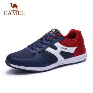 camel骆驼运动跑鞋 春夏男款轻质吸汗透气运动鞋跑步鞋男鞋