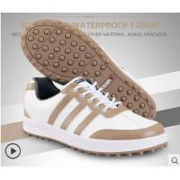 超防水golf鞋 阿迪风 超软运动鞋 高尔夫球鞋 男款