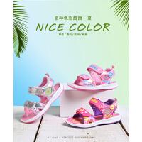 阿童木童鞋女童凉鞋2017新款韩版夏季小中童沙滩鞋运动潮