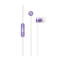 【全网首销】Beats urbeats 浅紫色 重低音降噪面条 hifi入耳式耳机带线控 手机电脑耳机 三键线控带麦克 时尚数码礼品
