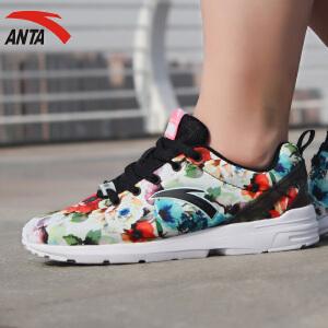 安踏女鞋休闲鞋春季舒适防滑耐磨透气跑步鞋运动鞋12628810