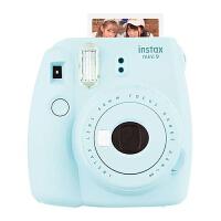 Fujifilm/富士 instax mini9一次成像相机 拍立得胶片 - 冰霜蓝