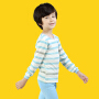 彩桥童装  春秋儿童内衣套装纯棉男女童秋衣秋裤套装保暖棉毛衫卡通家居服空调服